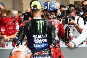 【MotoGP】クアルタラロの戴冠阻むべく……バニャイヤ「全力で挑まなければ。まだチャンスは有る」