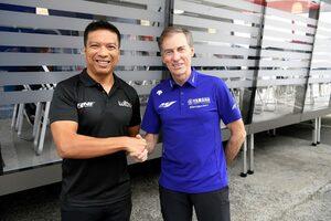 ヤマハ、『RNF MotoGPチーム』と1年契約でYZR-M1を供給。2022年はドヴィツィオーゾとダリン・ビンダーの布陣
