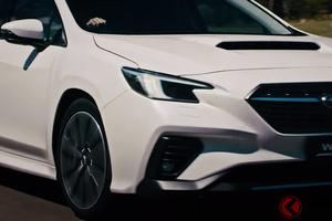 世界初公開のスバル新型「WRXスポーツワゴン」は2.4Lターボ搭載の爆速ワゴン!? 新型「WRX」との違いとは