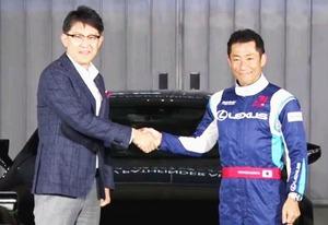 トヨタ、エアレース世界選手権に参戦 「レクサス・エアレーシング」で室屋義秀と契約 レクサス車へフィードバックも