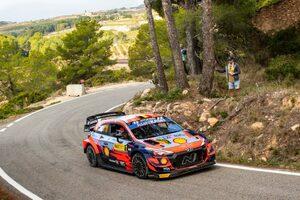 ヌービル快走! エバンスとの差を16秒に拡げてラリー最終日へ/WRC第11戦スペイン