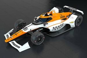 【インディカー】モントーヤがインディ500で乗る3台目のマクラーレン、50年前のレブソンPPに敬意表し86号車に