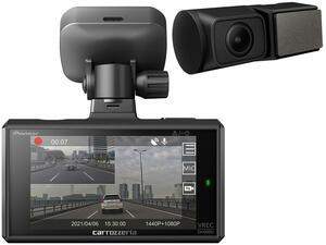 【動画】カロッツェリアが前後2カメラタイプのドライブレコーダー「VREC-DH300D」を発売