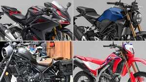 ホンダ2021新車バイクラインナップ〈車検レス軽二輪クラス〉CBR250RR etc.