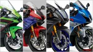 '21年新車バイクラインナップ〈日本車|大型スーパースポーツ|1000ccクラス〉