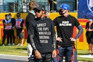 FIA、ハミルトンの抗議Tシャツ着用への調査を否定も、新たなガイドライン設定へ