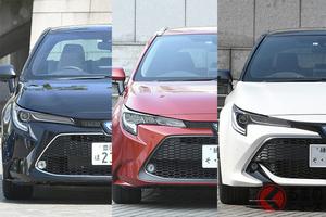 日本のザ大衆車!トヨタ「カローラ」シリーズは何が魅力? 年齢層で人気タイプも異なる?