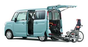 安全性と便利装備を強化。「スズキ・スペーシア車いす移動車」が仕様変更