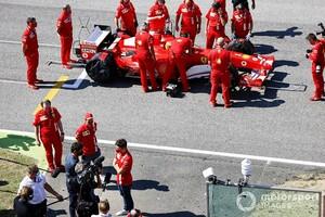 ベッテル&ルクレール、ミック・シューマッハーが走らせたフェラーリF2004にうっとり「すばらしい。良い音だな……」
