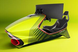 【初のレーシング・シミュレーター】アストン マーティン AMR-C01発表 限定150台 邦貨780万円