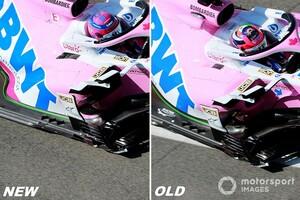 """トスカーナGPに""""1台分""""のみ大規模アップデートを用意したレーシングポイント。ペレス車には「次のロシアから」"""