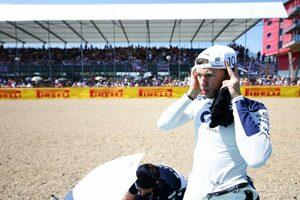 ガスリー、パンクでポイント圏内から脱落「あと5周だったのに…」アルファタウリ・ホンダ/F1第10戦