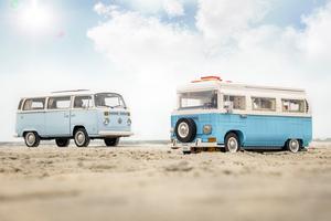 クルマ好きにはたまらない!レゴになったフォルクスワーゲンの名車「Type 2 bus camping car」
