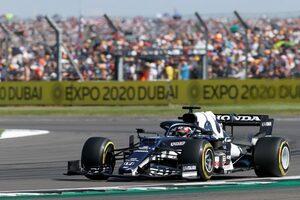 【角田裕毅F1第10戦密着】前半は無理な追い抜きを仕掛けずタイヤを温存。ピットストップで順位を上げ、入賞をもぎ取る