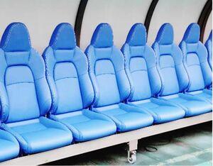 TSテック、埼玉スタジアムに選手用ベンチシート寄贈 専用表皮を採用