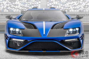 マンソリーのフォード「GT」がヤバすぎ!! 世界限定3台のスーパーカーの全容
