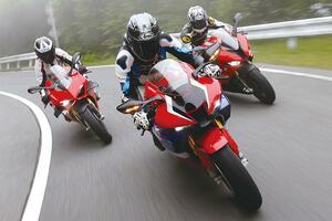 リッターSSバイクのスポーツ性能を比較! ホンダ CBR1000RR-R・BMW S1000RR・ドゥカティ パニガーレV4S