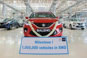 スズキ、インドのグジャラート工場 累計生産100万台を達成 スズキ生産拠点として最速