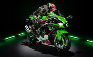 スーパーバイク世界選手権で6連覇を達成したカワサキ「Ninja ZX-10R」がアップデート