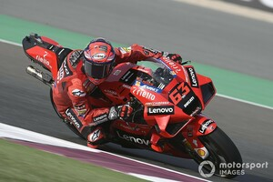 【MotoGP】バニャイヤ、ミスで表彰台消滅に自己批判。「ファクトリーでは受け入れられないミス。先頭争いができたはず」|第2戦ドーハGP