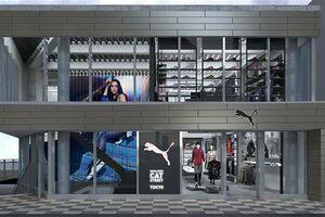プーマの新たな旗艦店舗『プーマストア 原宿キャットストリート』が11月19日にオープンへ