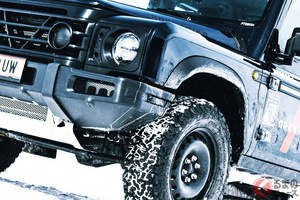 タフ顔最強SUV! 新型「グレナディア」10月予約開始! ディフェンダー風本格モデルが海外市場に投入か