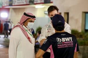 """サウジアラビアF1プロモーター、複数のドライバーと""""人権問題""""について話し合ったと明かす"""