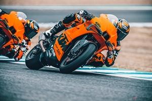 KTM新型「RC 8C」登場 ハンドメイドで製作される100台限定のスーパースポーツ