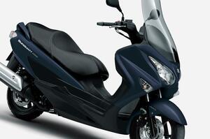 【新車】ライバルは原付二種 or 150ccスクーター? スズキ『バーグマン200』が2021年モデルでABS装備となりました!価格と発売日は?【SUZUKI/BURGMAN200 ABS】