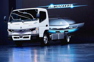三菱ふそう、EVトラック「eキャンター」 世界で200台納車