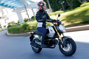 ホンダ新型「グロム」公道インプレ(2021年)5速ミッション+新エンジンで走りの爽快感がアップ!