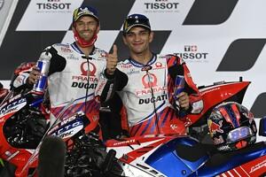 【MotoGP】マルティン「ザルコには勝てる速さがある!」2位続くチームメイトの強さと初優勝を確信