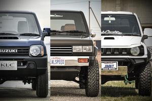 「パジェロミニを昔のランクル化」「現行顔の旧型ジムニー」! いま「旧型軽SUV」のカスタムが大流行