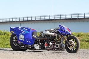 ドラッグレースの1/4マイルで5秒台を目指す 3100cc・1200馬力を叩き出すスーパーチャージャーを備えたモンスターマシン