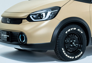これぞ「フィットクロスオーバー」 本格SUV風フィット公開 東京オートサロンに出るはずだったクルマ