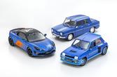 「R8ゴルディーニ1100」「5ターボI」「アルピーヌA110Cup」! フランス車好き必見の1/18スケールが京商より発売