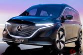 メルセデス・ベンツ「コンセプトEQT」初公開! 新型プレミアム電動ミニバンは2022年登場予定
