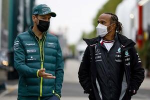 F1王者ハミルトン&ベッテル、レース少年たちの金銭的負担を憂う「僕たちの時代も大変だったけど……今は狂気じみている」
