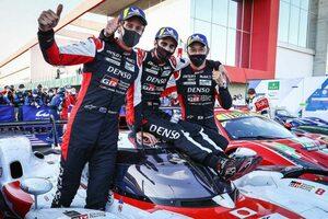 中嶋一貴組トヨタ8号車が連勝飾る。終盤にチーム内で2度の順位入れ替えも/WEC第2戦ポルティマオ