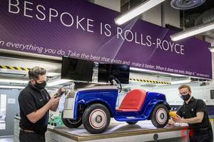 10万m点検実施! ロールス・ロイスの働くキッズカー「SRH」はどうして生まれた?