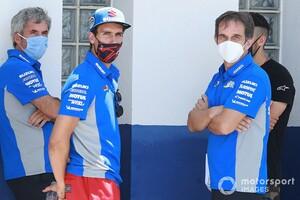 【MotoGP】おいおい冗談だろ……? スズキのアレックス・リンス、ブリビオ離脱は発表前日に電話で知る