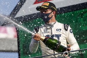 ピエール・ガスリー、ホンダとのF1最後のシーズンに向け意気込み「初優勝した2020年以上の成績を目指す」