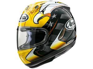 アライヘルメットがケニー・ロバーツの最新レプリカ「RX-7X KRアメリカン・イーグル」を発表!