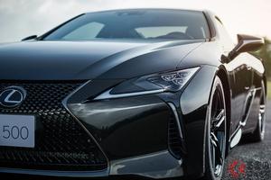漆黒のレクサス「LC」爆誕! 最上級の限定車「インスピレーションシリーズ」登場