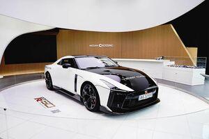 日産、「GT-R50 byイタルデザイン」を銀座に展示 3/31まで