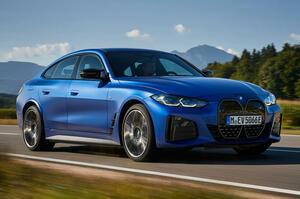 【Mを冠する純EVサルーン】BMW i4 M50へ試乗 総合543psの四輪駆動 前編
