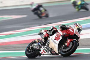 【MotoGP】初日23番手の中上貴晶「厳しいセッションだった。ドライセッションに向けて準備をしたい」|エミリア・ロマーニャGP