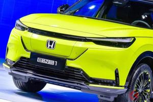 ホンダ新型SUV「e:NS1」をお披露目! 初の純電気SUVの特徴は? 中国・武漢で発表!