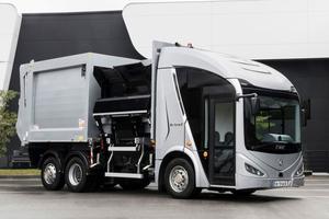 電動化も着々と 世界の最先端を行くヨーロッパのゴミ収集車