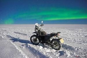 世界初! ロイヤルエンフィールドがモーターサイクルによる南極走破プロジェクトを始動